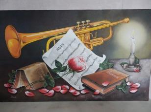 Trompette et partitions